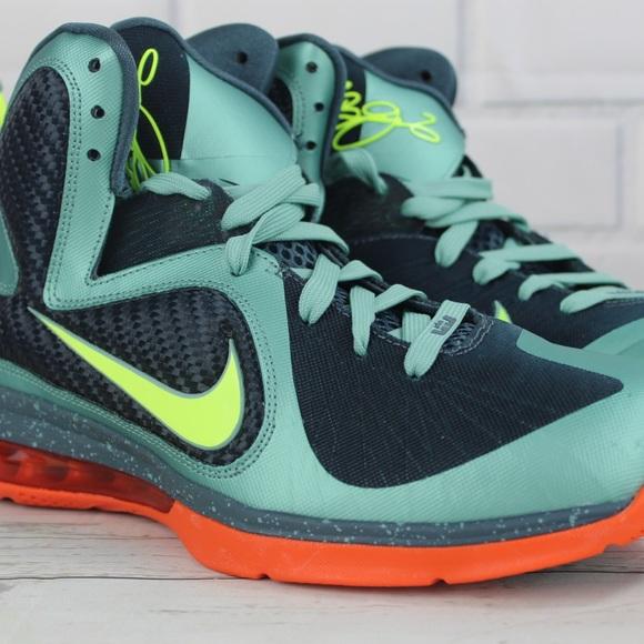 Nike Other - Nike Lebron IX Cannon's Basketball Shoes 10.5